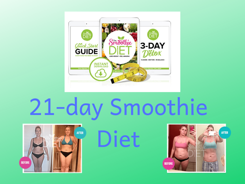 21 day smoothie diet reviews